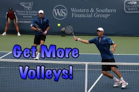 Doubles – Get More Volleys & Intercept Effectively